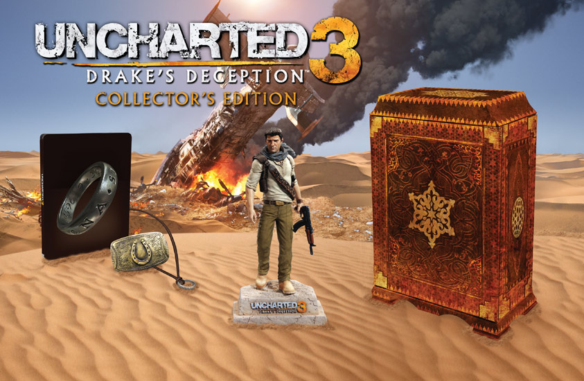 uncharted 3 collector's