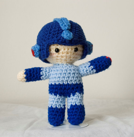 mega man plushie