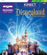 Kinect Disneyland Adventures Boxart