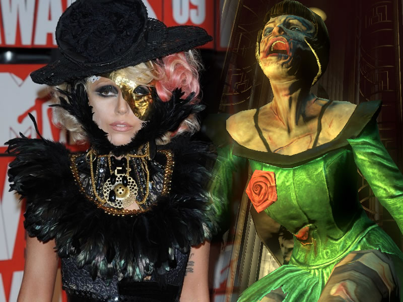 Lady Gaga is a Splicer
