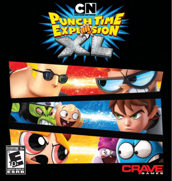 Cartoon Network Punch Time Explosion XL  - 872816