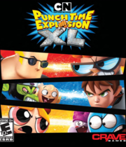 Cartoon Network Punch Time Explosion XL Boxart