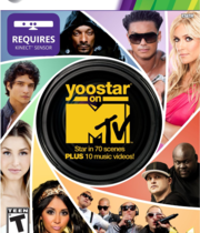 Yoostar on MTV Boxart