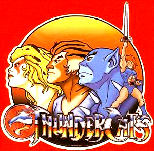 Cartoon Thunder Cats on Thundercats
