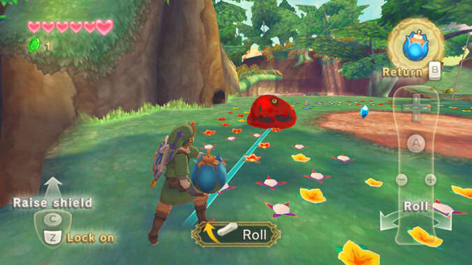 Skyward Sword motion controls