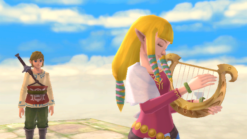 Skyward Sword Goddess Harp