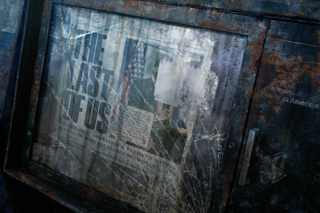 The Last of Us teaser image newspaper