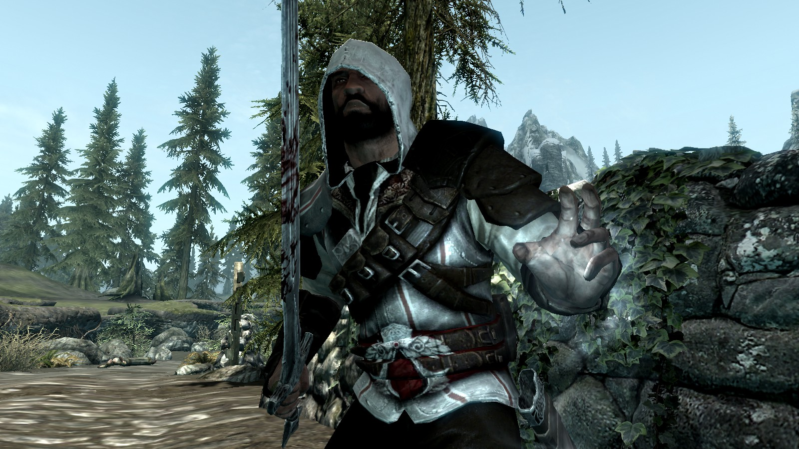 Assassin's Creed armor Skyrim mod