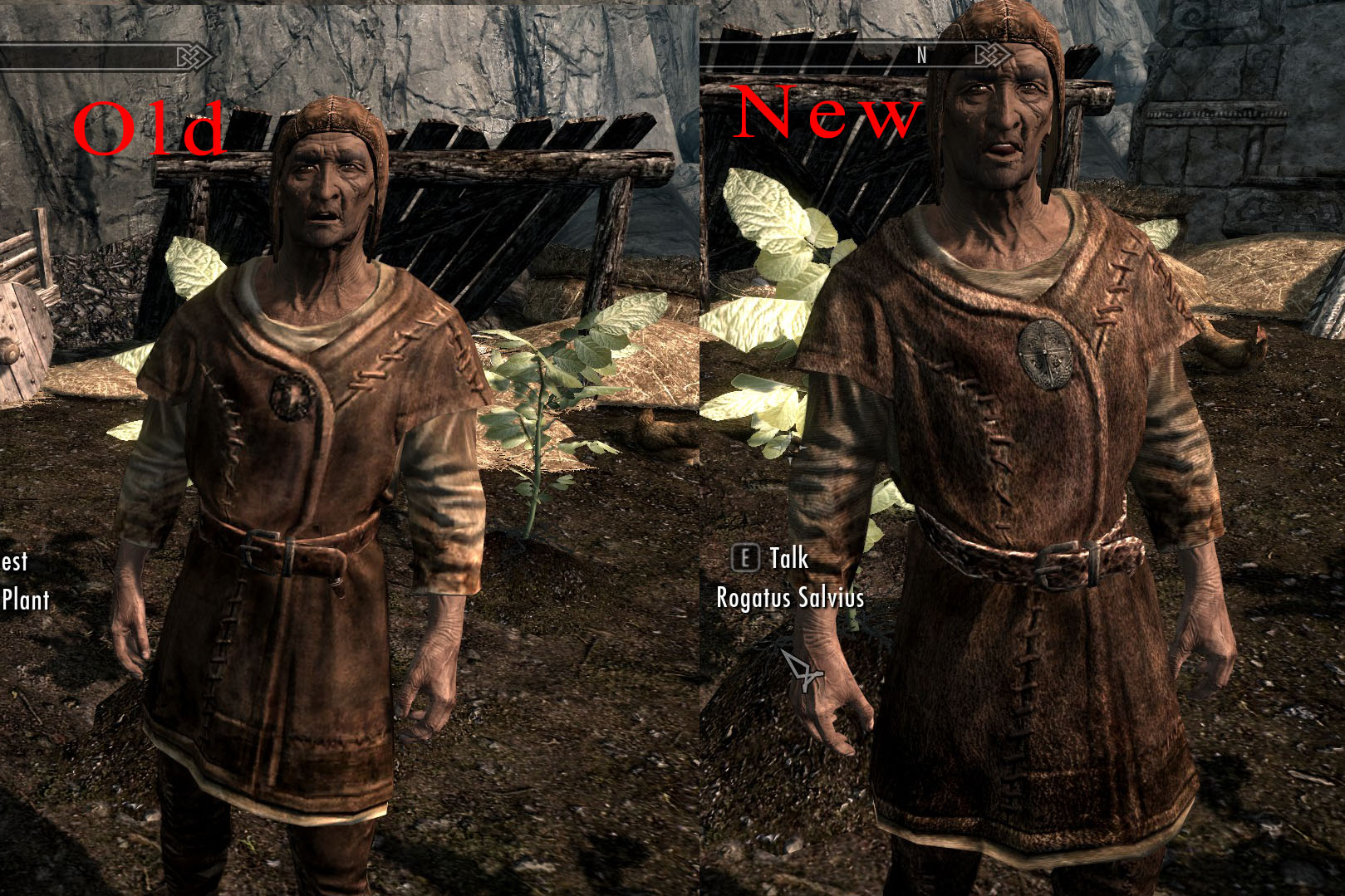 Improved NPC Clothing - High Res Skyrim Mod