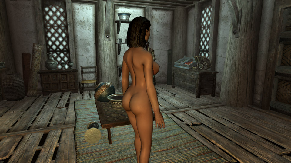 Calientes Female Body Mod Big Bottom Edition -CBBE- Skyrim Mod