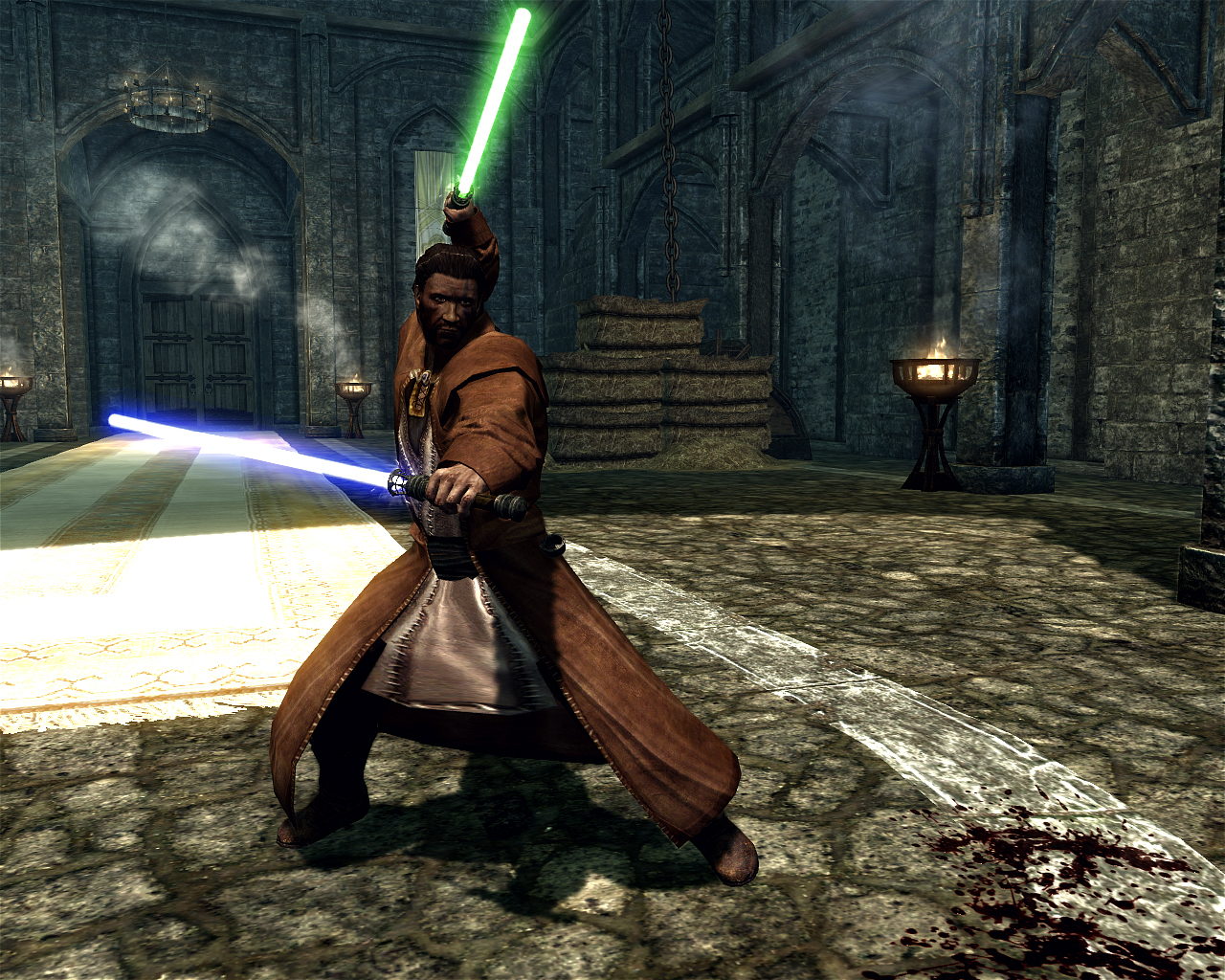 Jedi Robes skyrim mod