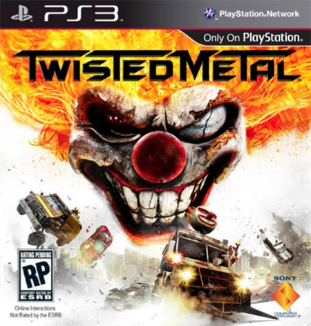 Twisted Metal box art 2012
