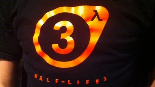 Half-Life 3 tshirt