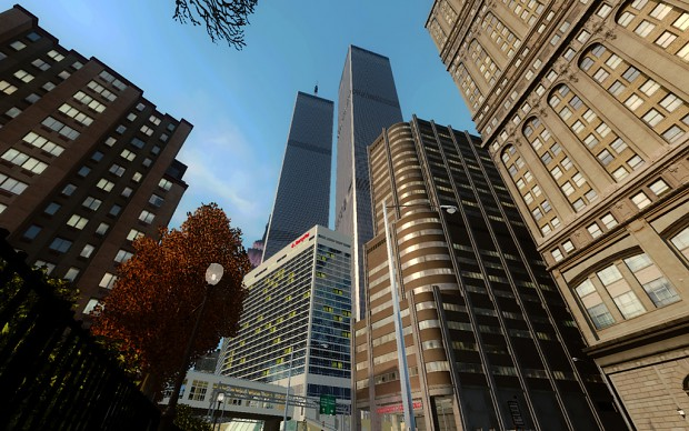 World Trade Center Grand Theft Auto IV Mod