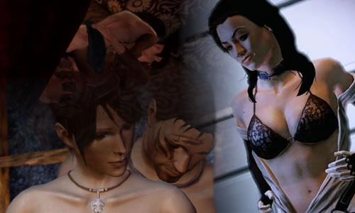 bioware sex collage