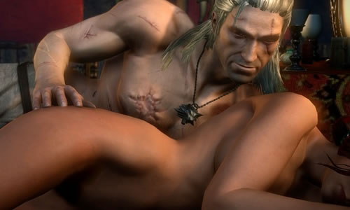 witcher 2 sex scene