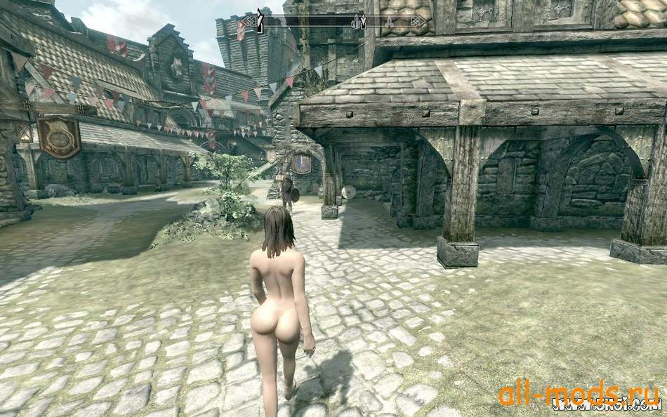 Catwalk Female Walking Animation Skyrim Mod