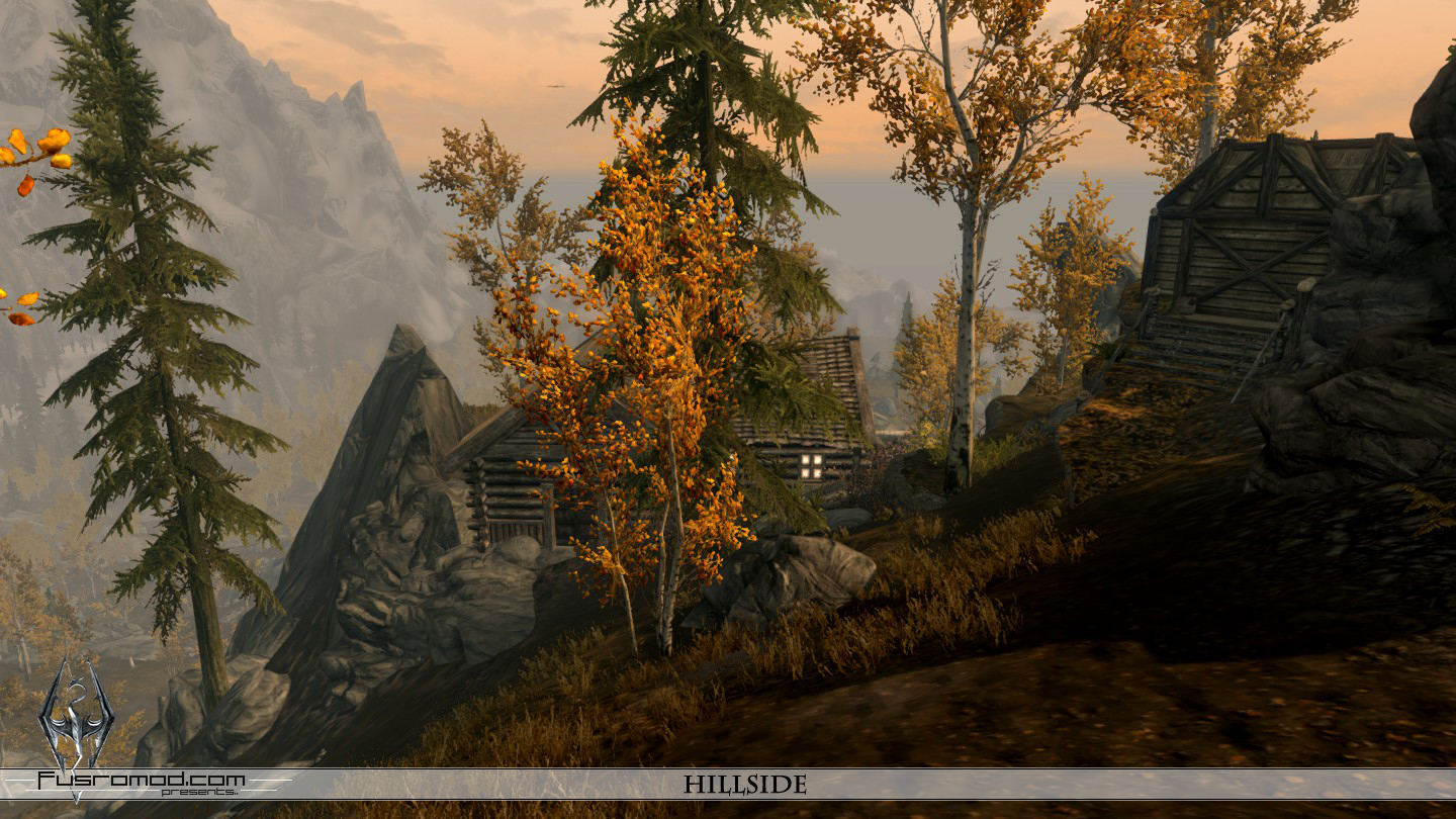 Hillside Home Skyrim Mod
