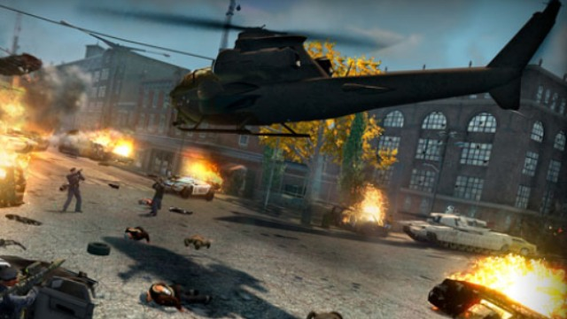 saints row the third helicopter