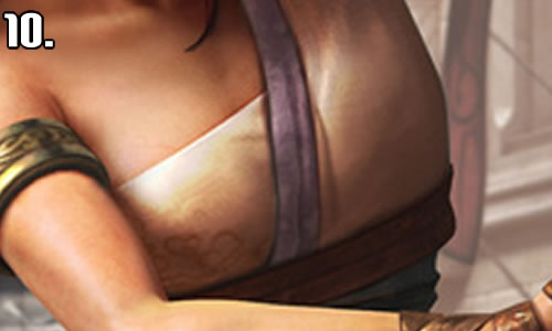 video game boobs