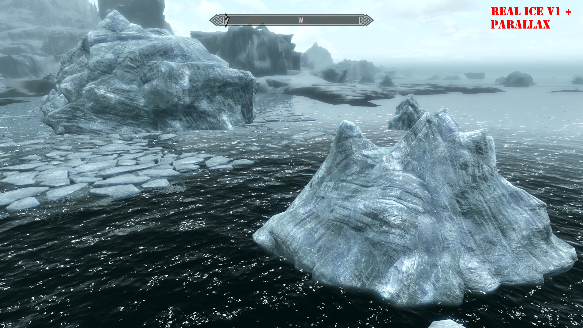 2K Real Ice v2 Skyrim Mod