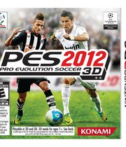 Pro Evolution Soccer 2012 3D Boxart