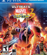 Ultimate Marvel vs. Capcom 3 (Vita) Boxart