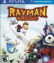 Rayman Origins (Vita) Boxart