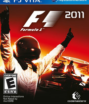 F1 2011 (Vita) Boxart