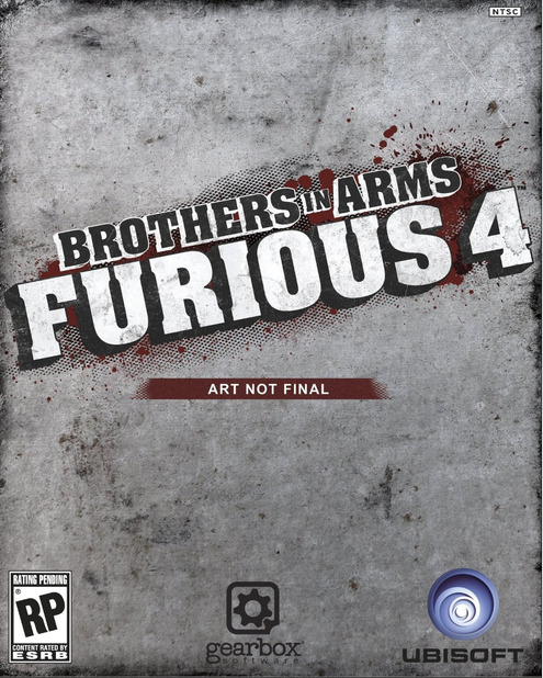 Brothers in Arms Furious 4  - 875090