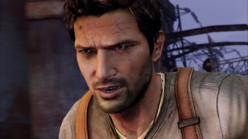 Nathan Drake and Lara Croft