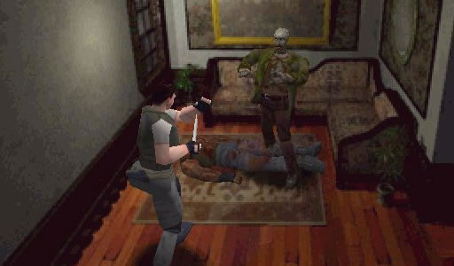resident evil 1 chris redfield