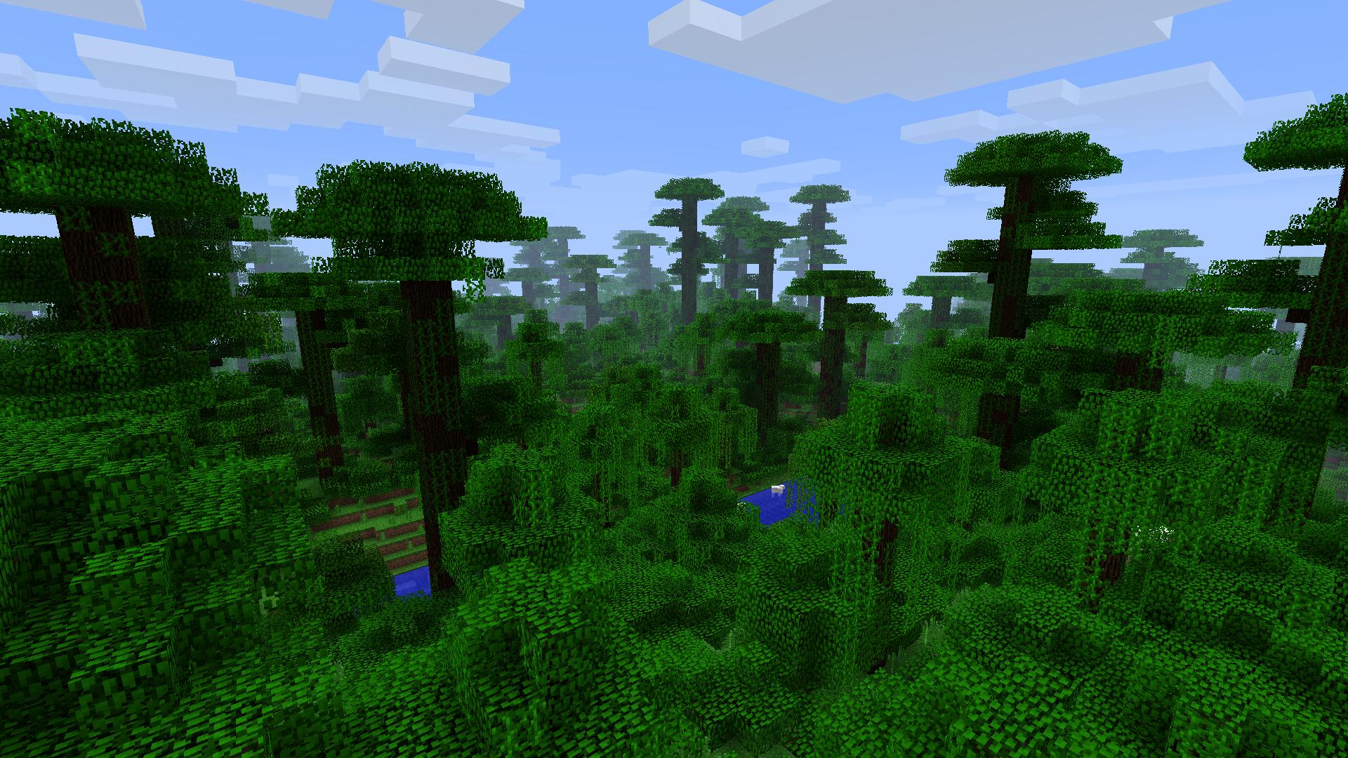 Minecraft jungle biome