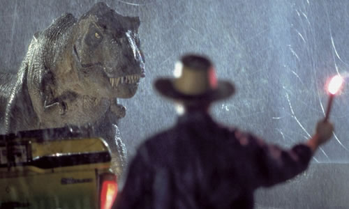 jurassic park alan grant trex