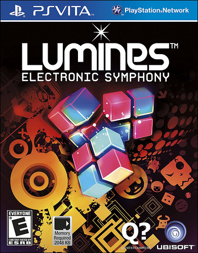 Lumines Electronic Symphony PS Vita