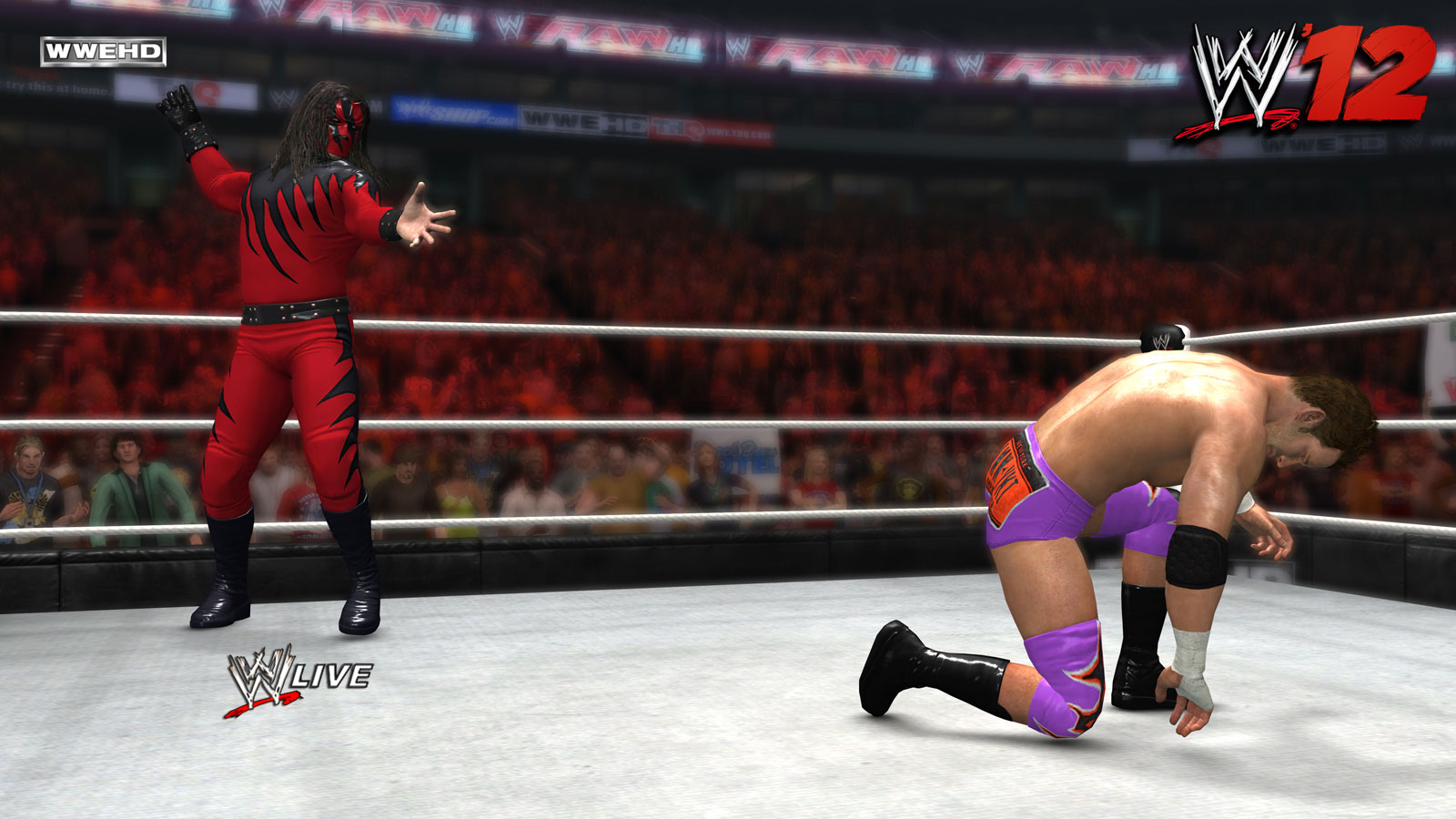 Masked Kane WWE '12