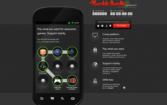 New Humble Bundle adds Android to the mix