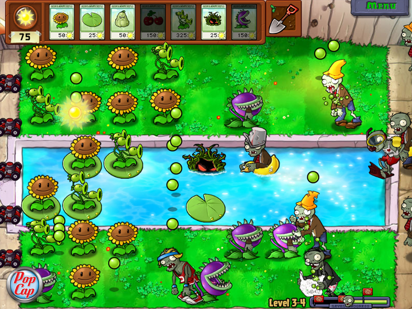 plants vs zombies games
