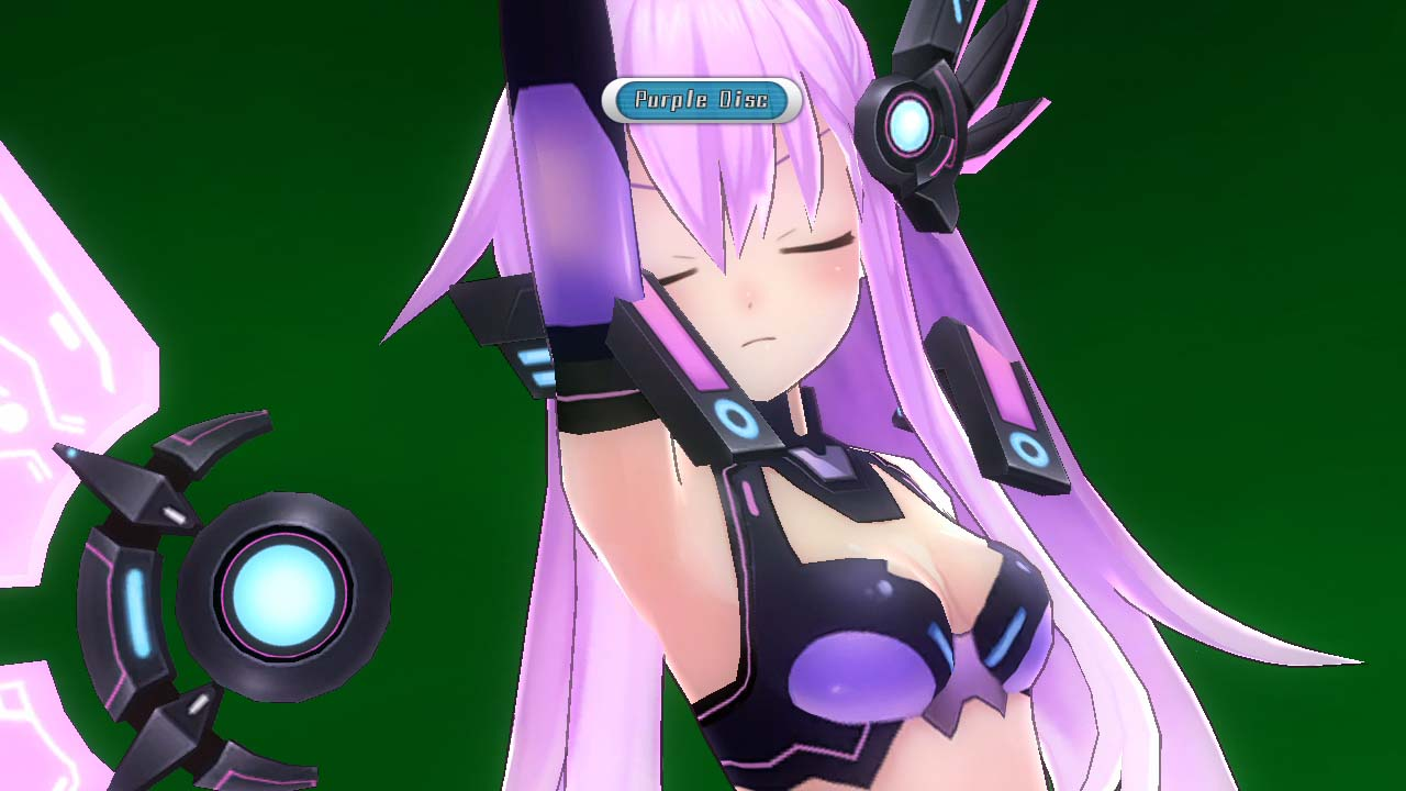 Hyperdimension Neptunia MK2 gameplay
