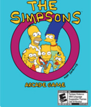 The Simpsons Arcade Game Boxart