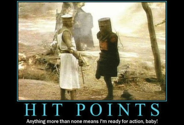 Monty Python and the Holy Grail Motivational Poster