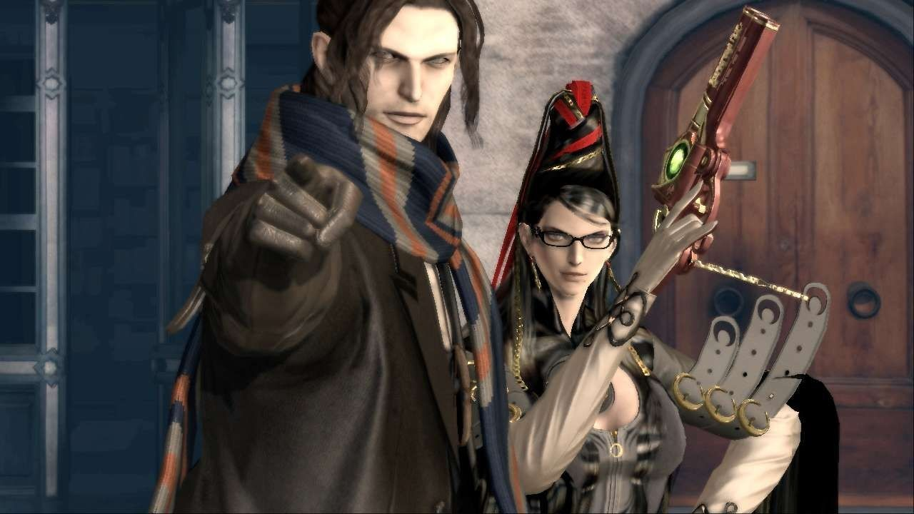 Bayonetta and Luka