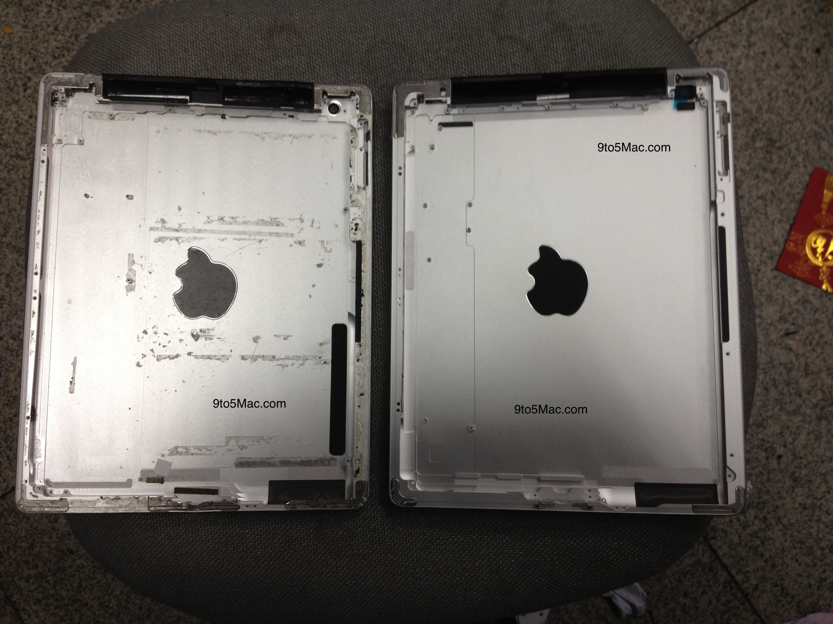 iPad 3 back casing