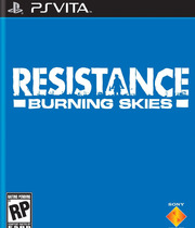 Resistance: Burning Skies Boxart