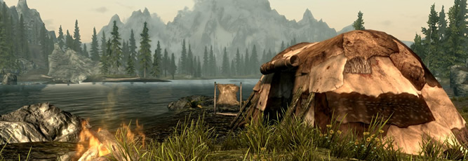 Portable Campsite Skyrim Mod