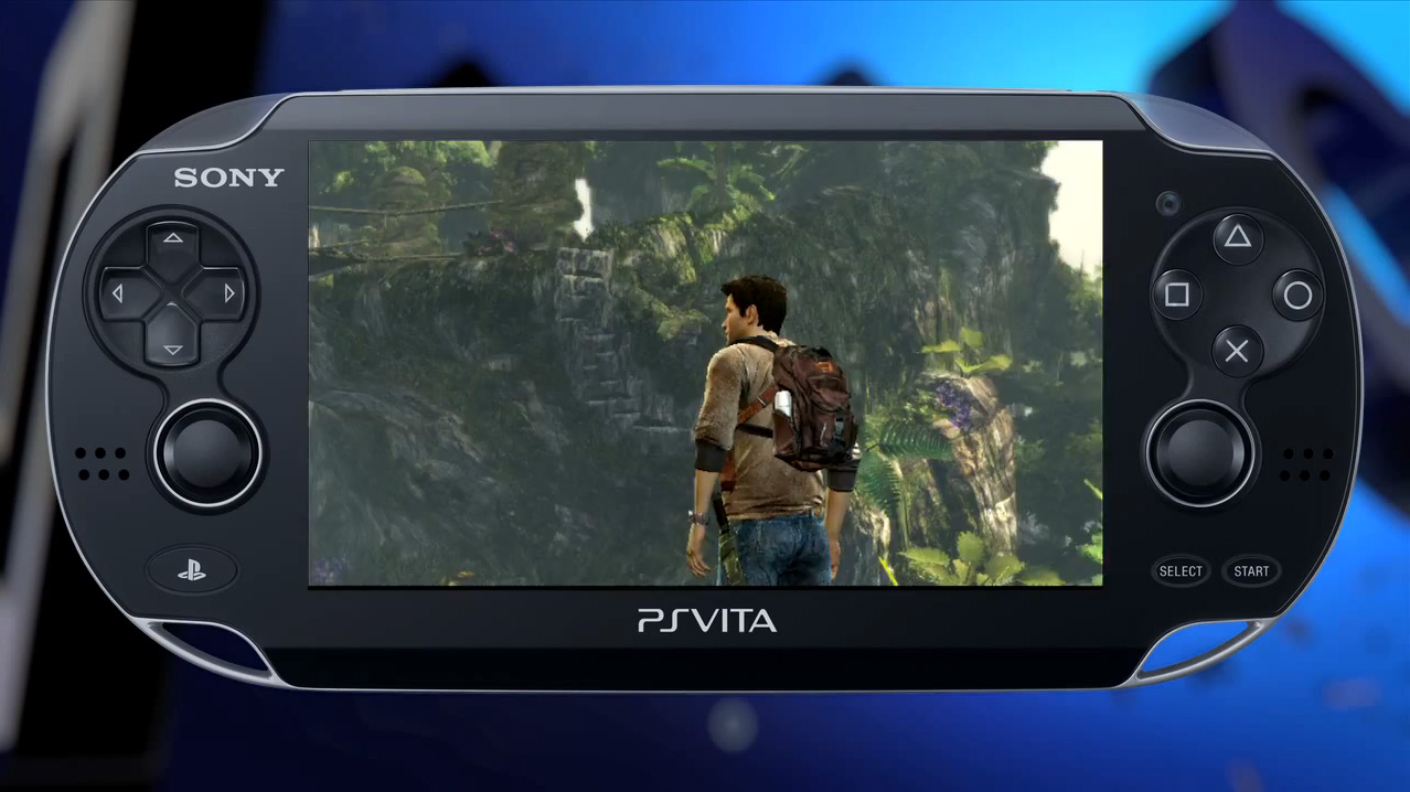 PS Vita Uncharted