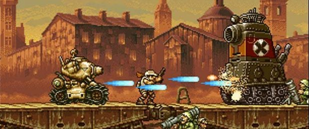 Metal Slug X - Feature