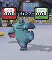 Monsters, Inc. Scream Arena Boxart