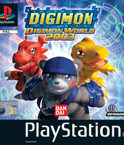 Digimon World 2003 Boxart