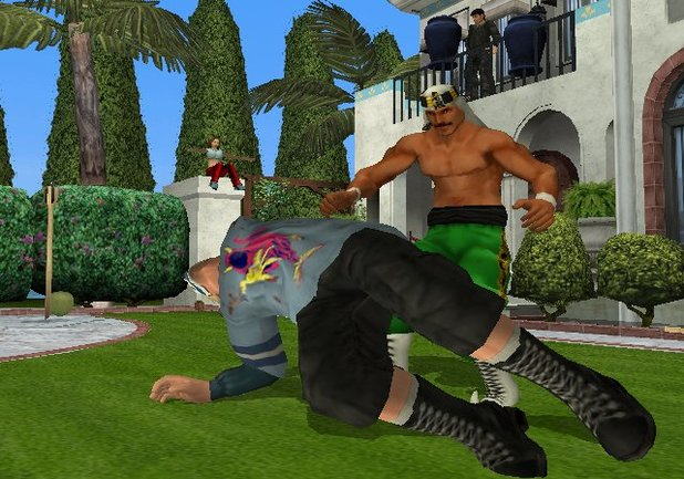 Backyard Wrestling: Don't Try This At Home Screenshot - 899300